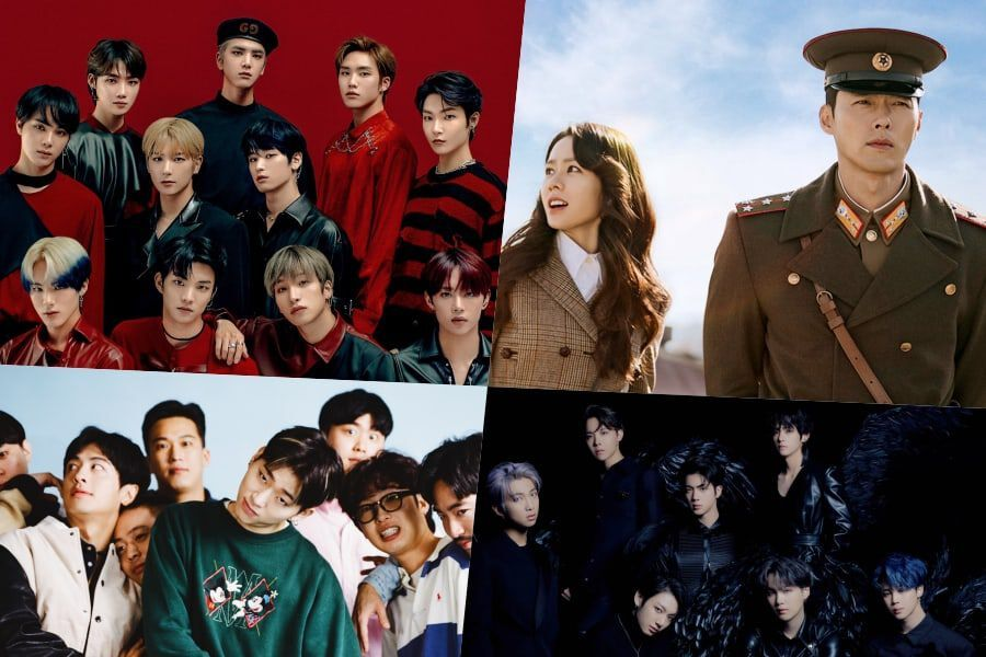 "The Boyz, Zico, BTS, And ""Crash Landing On You"" OST Top Gaon Weekly Charts"
