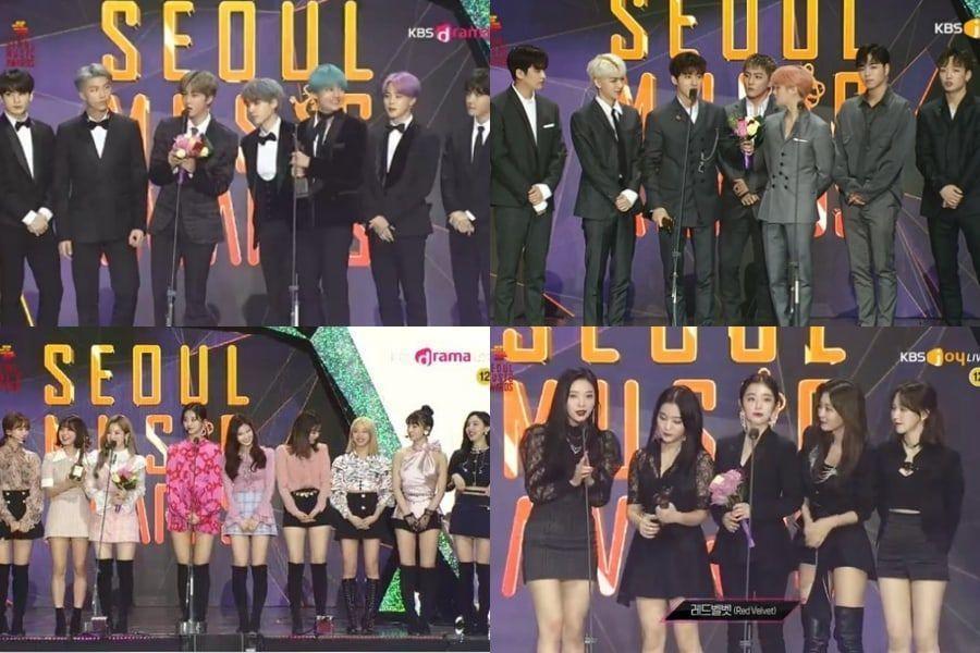 """Ganadores de los """"28th Seoul Music Awards"""""""