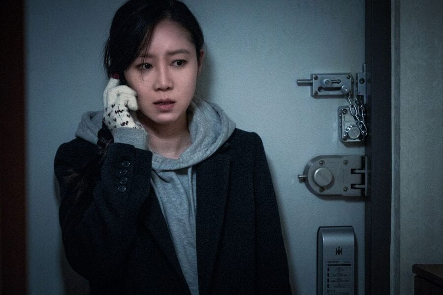 """Gong Hyo Jin Talks About How Scary Her New Film """"Door Lock"""" Is"""
