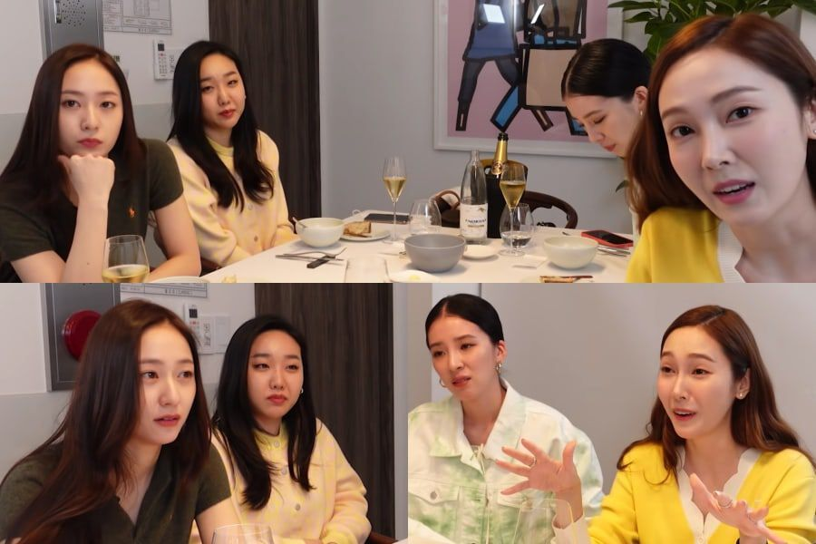 Jessica And Krystal Talk About Future Plans For Marriage, Ideal Types, Current Worries, And More