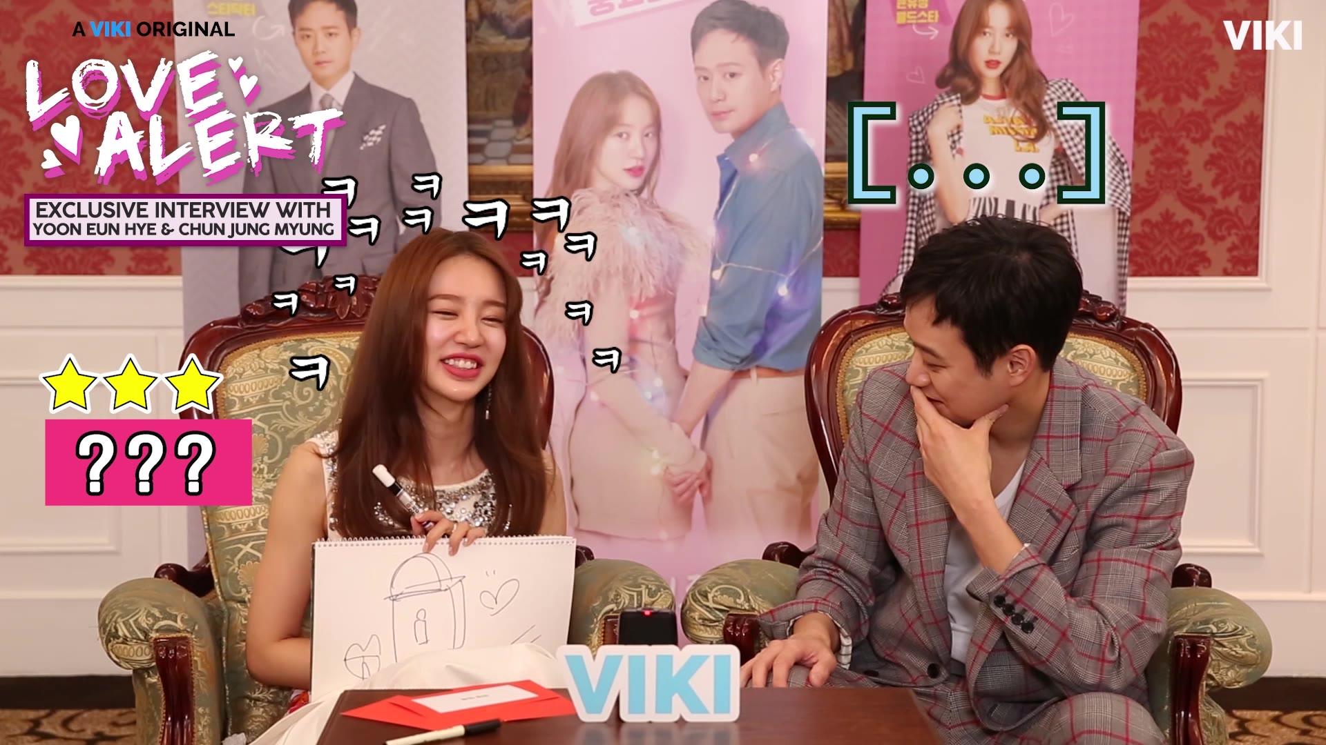Drawing Challenge With Yoon Eun Hye: Alerta de amor