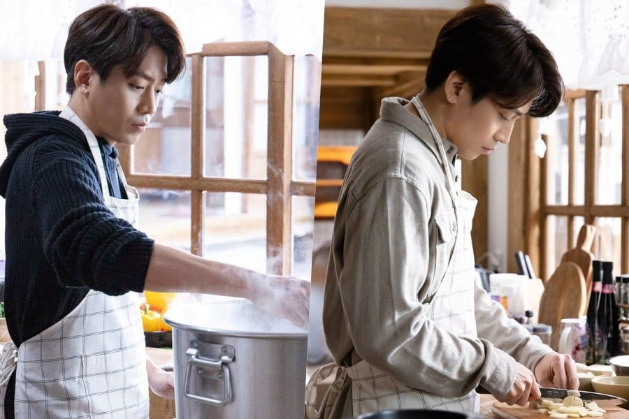 Shinhwa's Eric Is In Perfect Sync With His New Role As Star Chef In Upcoming Rom-Com