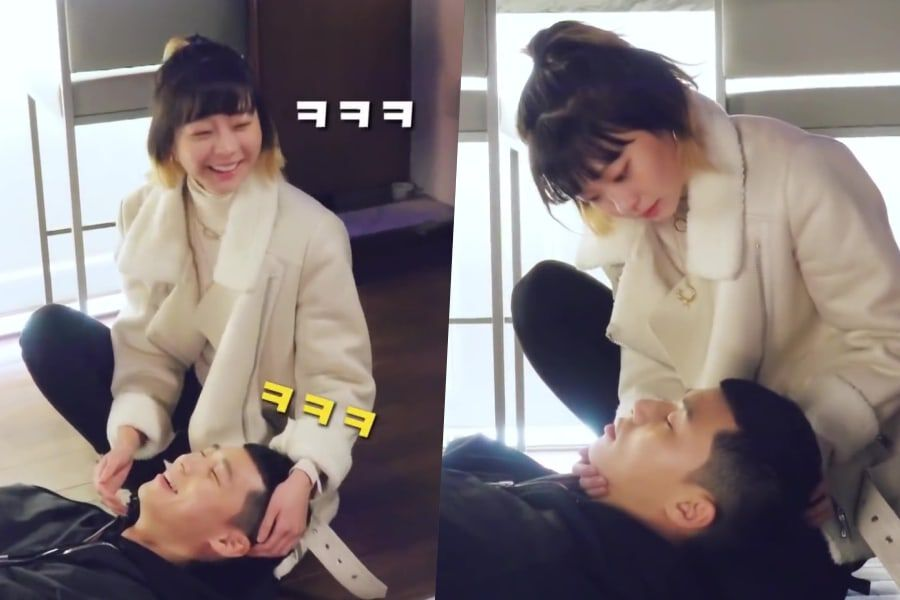 """Watch: Park Seo Joon And Kim Da Mi Are Full Of Laughter While Rehearsing Sweet Scene For """"Itaewon Class"""""""