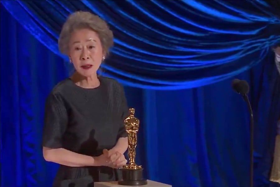 Watch: Youn Yuh Jung Makes History As 1st Korean Actress To Win At Academy Awards + Shares Witty Speech