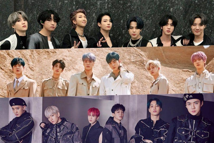 May Boy Group Brand Reputation Rankings Announced
