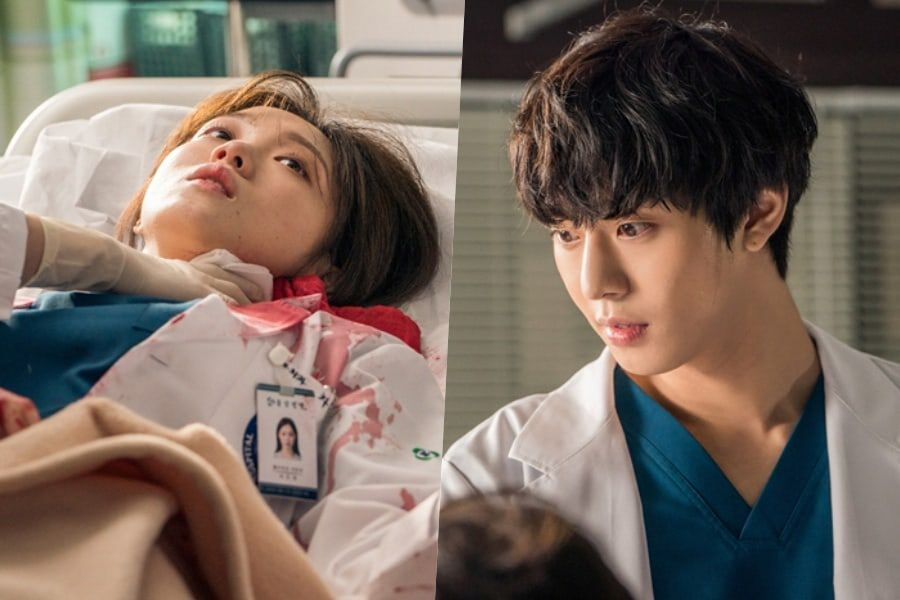 """Lee Sung Kyung And Ahn Hyo Seop Try To Overcome Harrowing Situation In """"Dr. Romantic 2"""""""
