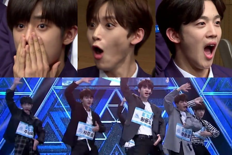"""Watch: """"Produce X 101"""" Trainees React To Rankings + Trainers Crack"""