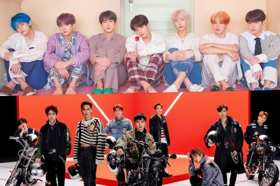 BTS And EXO Nominated For 2019 American Music Awards