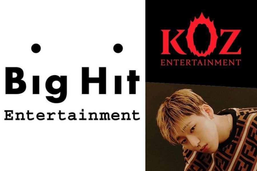 Big Hit Entertainment Announces Acquisition Of Zico's KOZ Entertainment