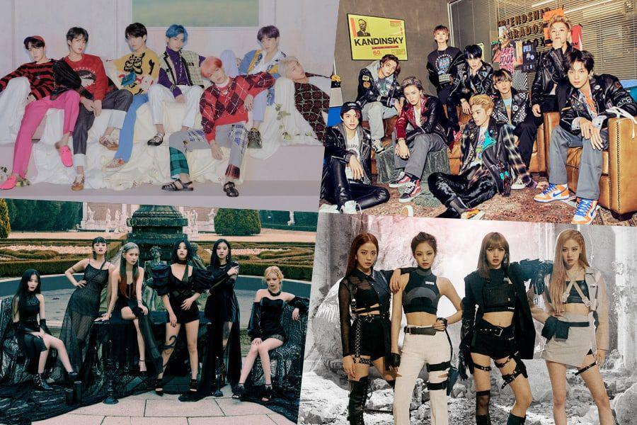 BTS, NCT 127, (G)I-DLE, BLACKPINK, And More Rank High On Billboard's World Albums Chart