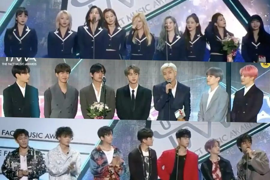 Winners Of The Fact Music Awards