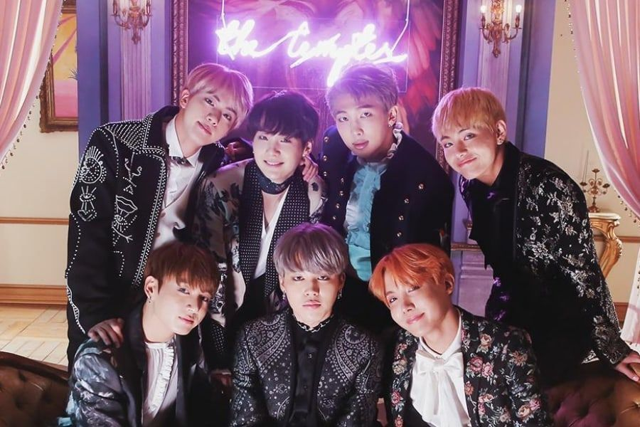 """BTS's """"Blood Sweat & Tears"""" Becomes Their 7th MV To Hit 600 Million Views"""