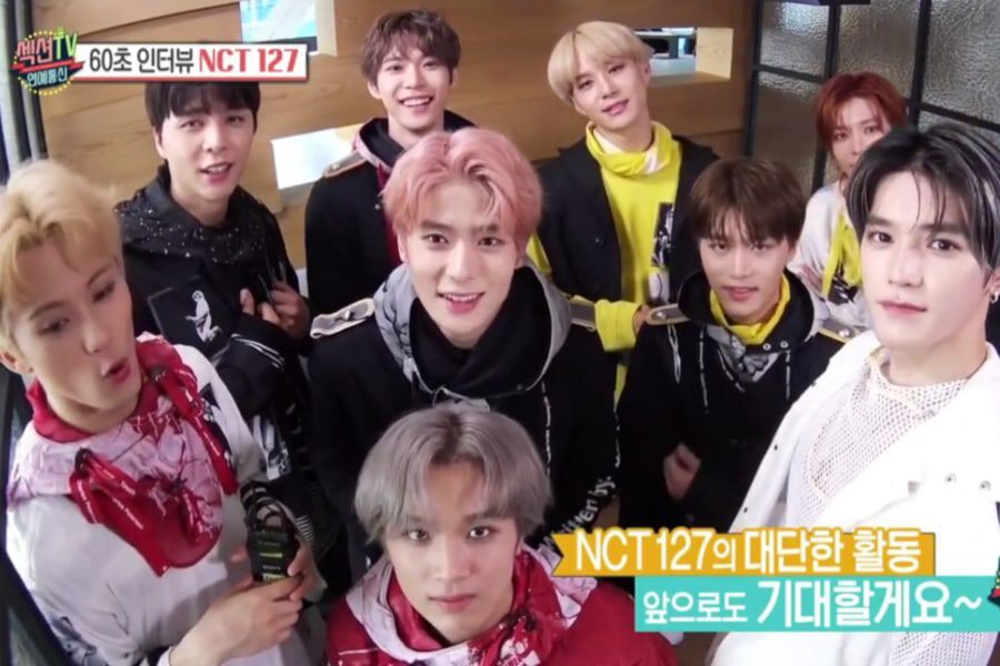 """NCT 127 Introduces Their New Song """"Superhuman,"""" Shares 1st Place"""