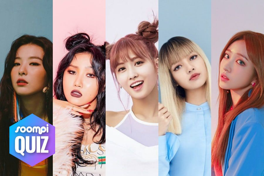 Quiz Create Your Own Female Supergroup And We Ll Tell You Your K Pop Bff Soompi