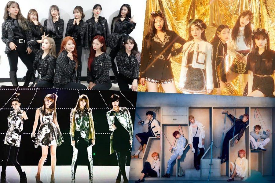 Coreenii lansează melodii cu titluri norocoase pentru a începe 2020 + melodii de WJSN, Red Velvet, 2NE1, BTS și mai multe reintra în topuri