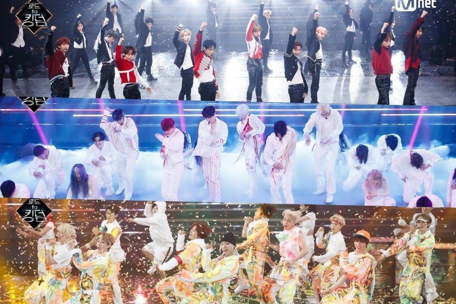 """Concursantes de """"Road To Kingdom"""" hacen covers de BLACKPINK, GOT7, Sunmi y más + Se revela al ganador de la misión colaboración"""