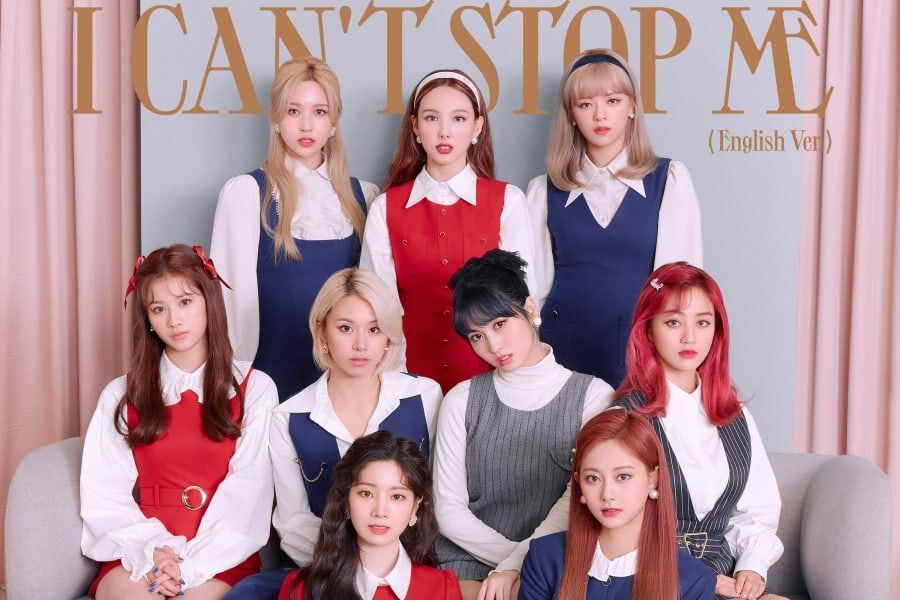 "TWICE To Release English Version Of ""I CAN'T STOP ME"""