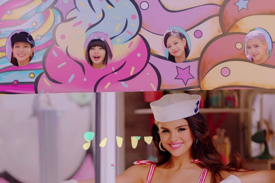 "Update: BLACKPINK Drops Summery MV Teaser For ""Ice Cream"" Co-Starring  Selena Gomez 