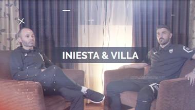 Interviews Episode 4: Iniesta & Villa 1