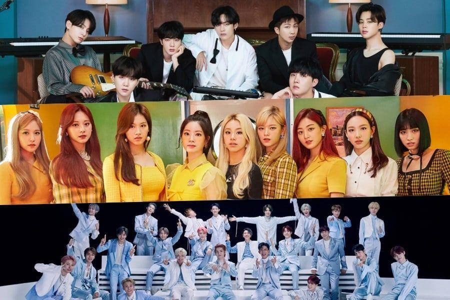 November Idol Group Brand Reputation Rankings Announced