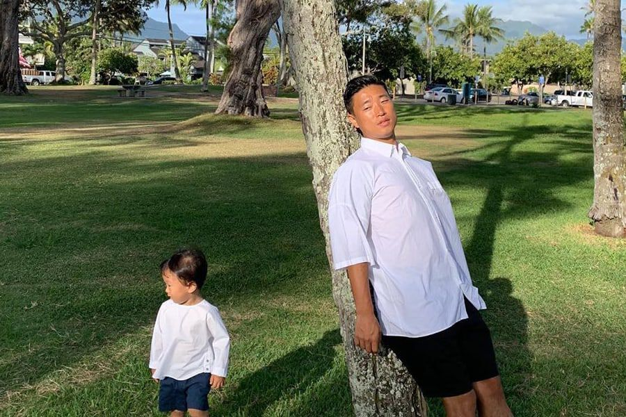 Gary Enjoys Father-Son Bonding Time And Shares Adorable Photos