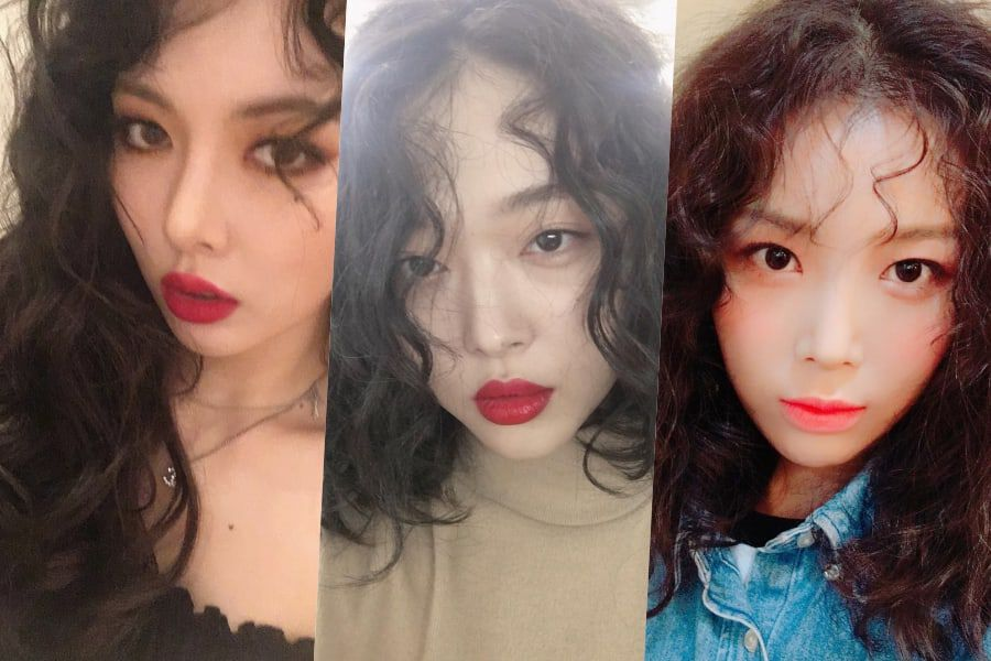 Stars Who Rock The Curly Hair Trend Soompi