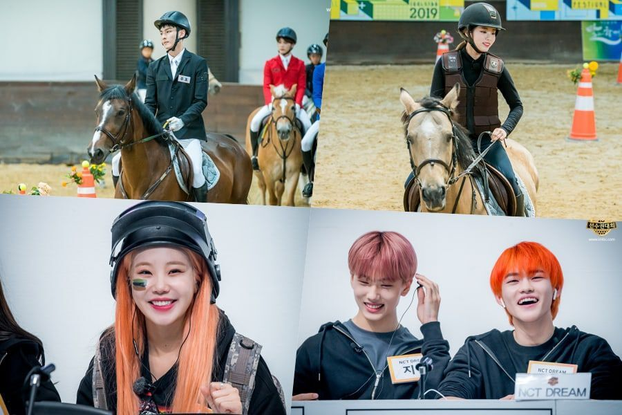 """2019 Idol Star Athletics Championships"" Shares Photos From New Events Horseback Riding And eSports"