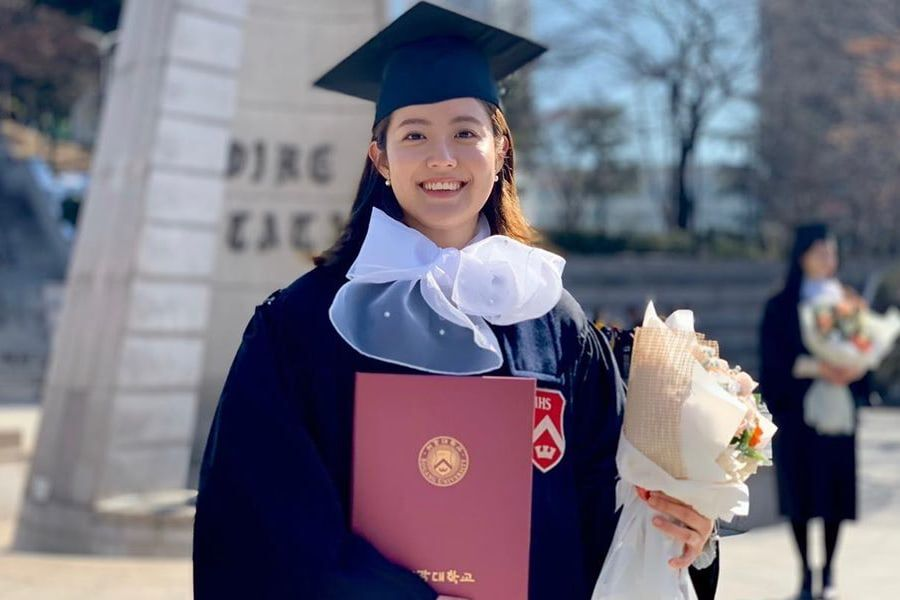 Nam Ji Hyun Graduates From College + Shares Photos From Ceremony