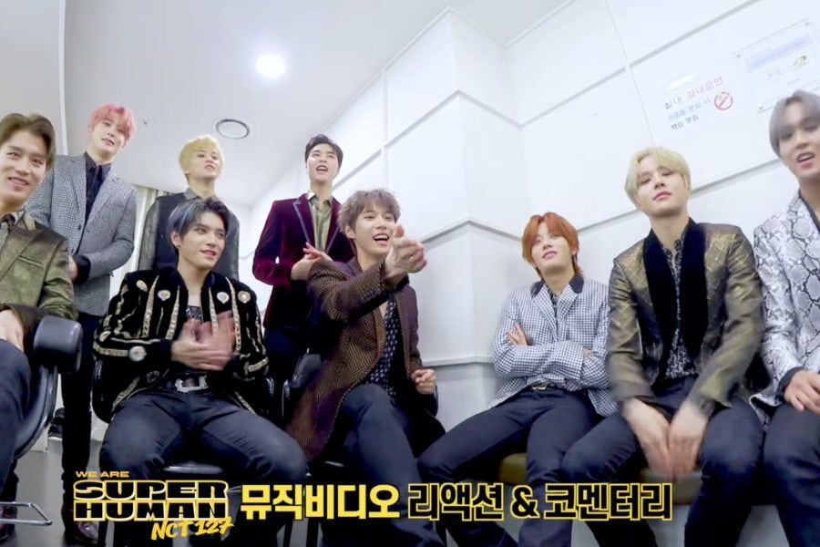 Watch: NCT 127 Shares Their Super Reaction To Their