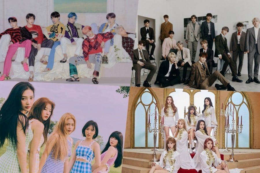 BTS, SEVENTEEN, Red Velvet, DreamCatcher, And More Rank High On Billboard's World Albums Chart