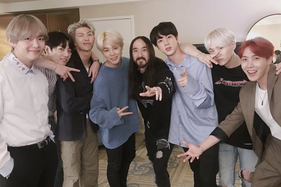 "BTS And Steve Aoki Drop Much-Anticipated New Collaboration ""Waste It On Me"""