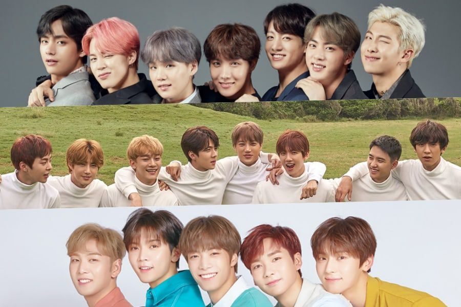 November Boy Group Brand Reputation Rankings Announced