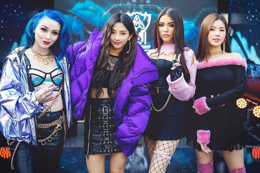 G I Dle S League Of Legends Collaboration Music Video Pop Stars