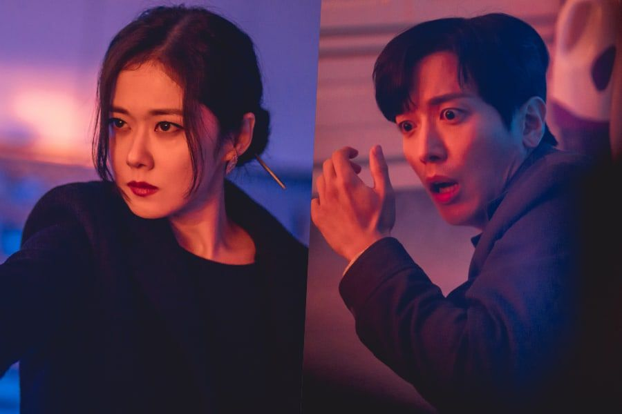 """Jang Nara And CNBLUE's Jung Yong Hwa Run Into Trouble During A Dangerous Exorcism In """"Sell Your Haunted House"""""""