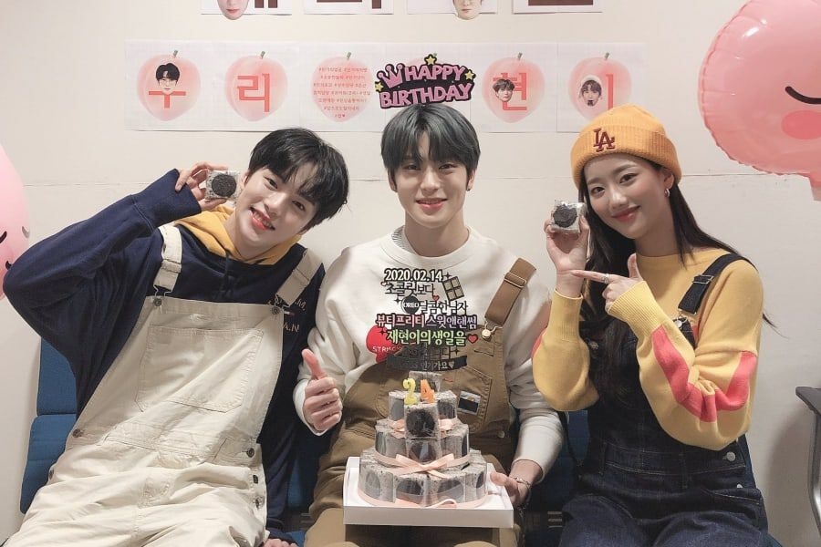 NCT's Jaehyun Thanks MONSTA X's Minhyuk + APRIL's Naeun For Early Birthday Party