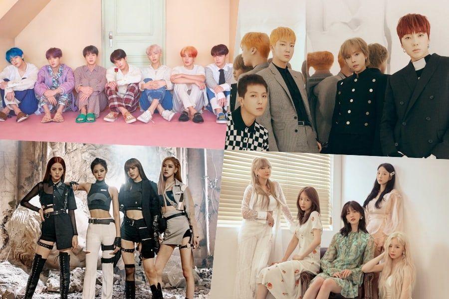 BTS, WINNER, BLACKPINK, EXID, Taeyeon y más se posicionan en el ranking de Álbumes Mundiales de Billboard