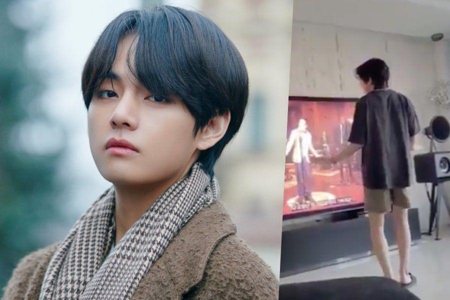 """El video """"StayAtHomeChallenge"""" de V de BTS es compartido por el Ministerio de Cultura, Deporte y Turismo de Corea"""