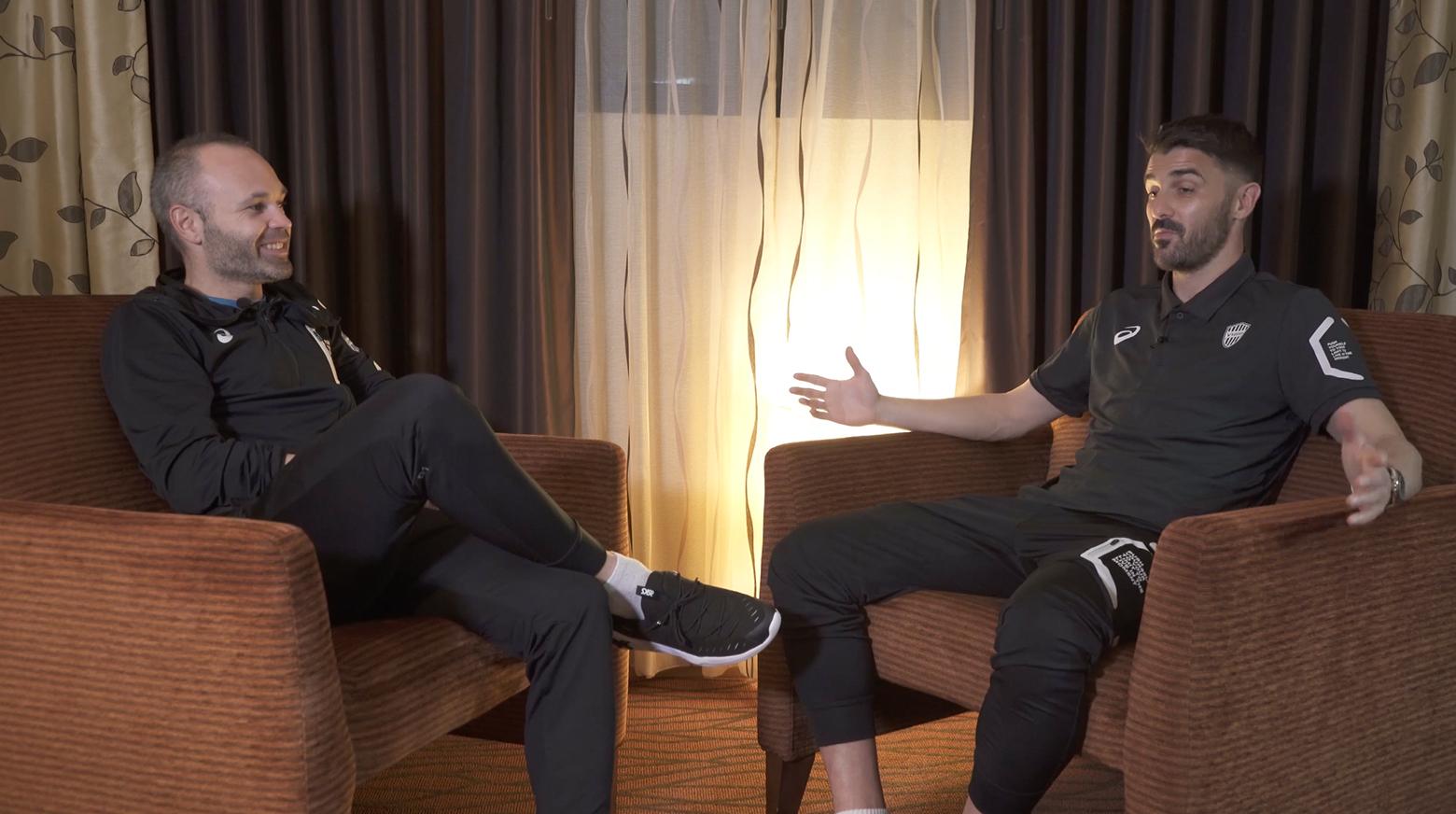 Iniesta TV: Interviews Episode 13: Iniesta & Villa #2