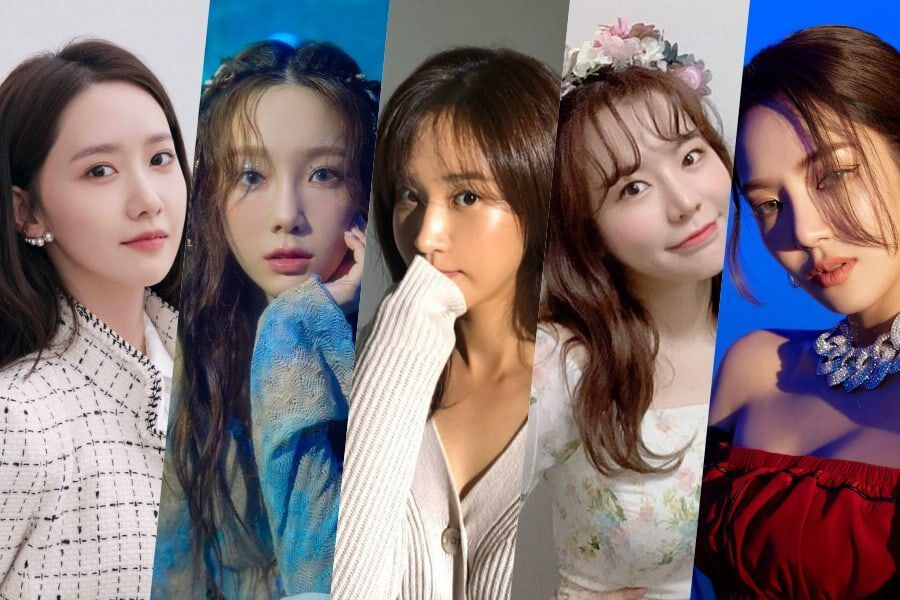 Girls' Generation's YoonA, Taeyeon, Yuri, Sunny, And Hyoyeon Renew Contracts With SM Entertainment