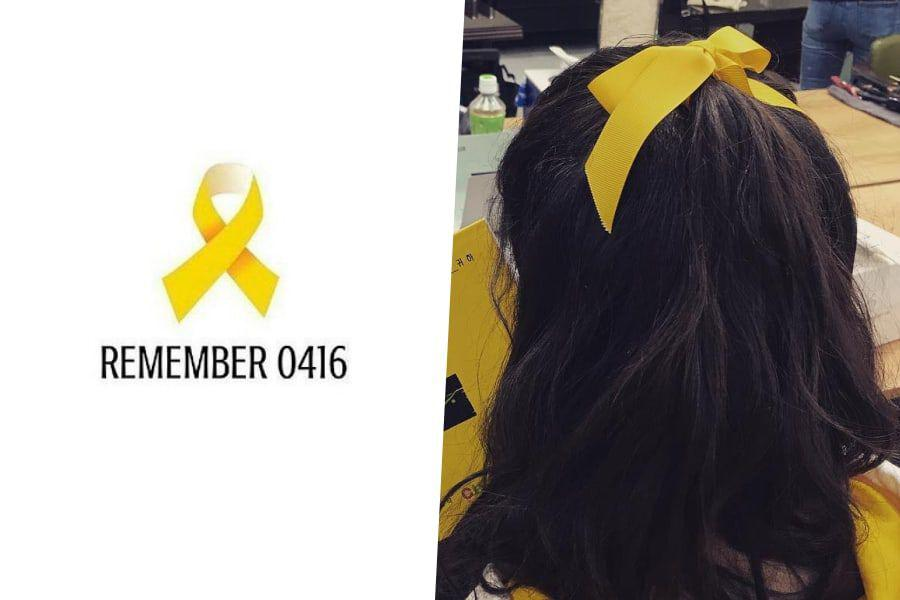 Celebrities Honor The Victims Of Sewol Ferry Disaster On Its 5th Anniversary