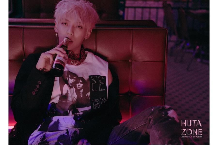 """Update: BTOB's Minhyuk Drops Captivating Pre-Roll Video For Solo Album """"HUTAZONE"""""""