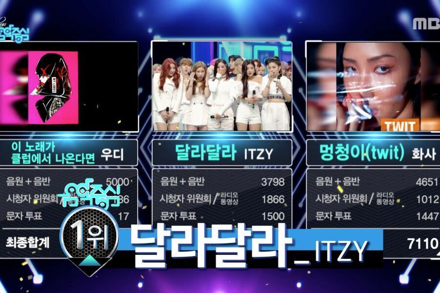 "Watch: ITZY Takes 2nd Win For ""DALLA DALLA"" On MBC's ""Music Core""; Performances By MONSTA X, SF9, SHINee's Taemin, And More"