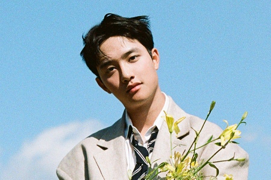 """EXO's D.O. Scores First Solo Music Show Win With """"Rose"""" On """"Music Bank"""""""