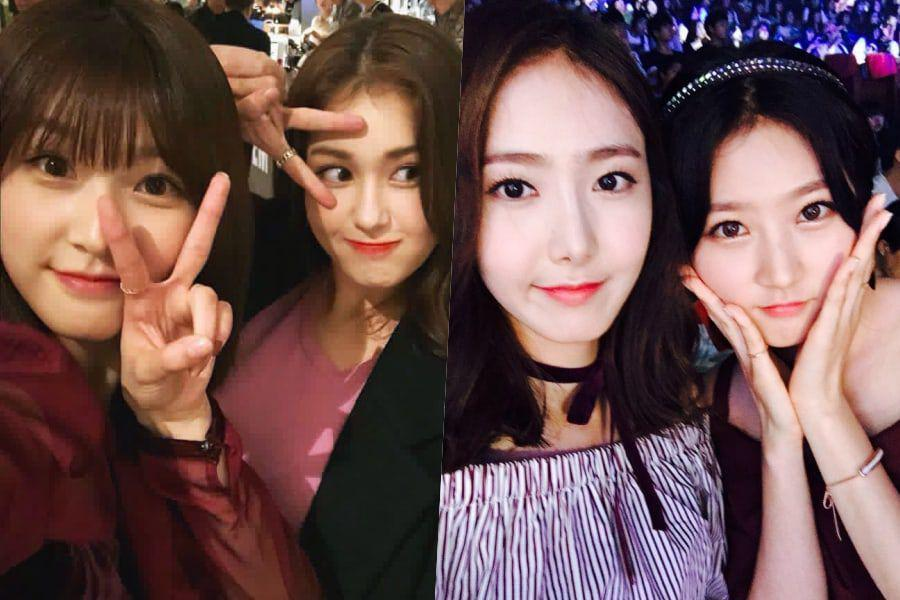 Somi And GFRIEND's SinB Show Love For Kim Sae Ron