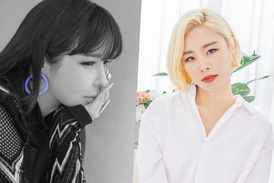 Park Bom y Wheein de MAMAMOO escriben conmovedoras publicaciones sobre su colaboración como modelo a seguir y fan