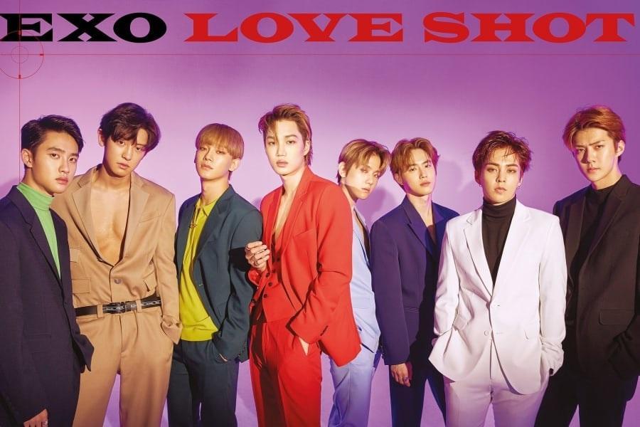 """""""Love Shot"""" de EXO se convierte en platino"""