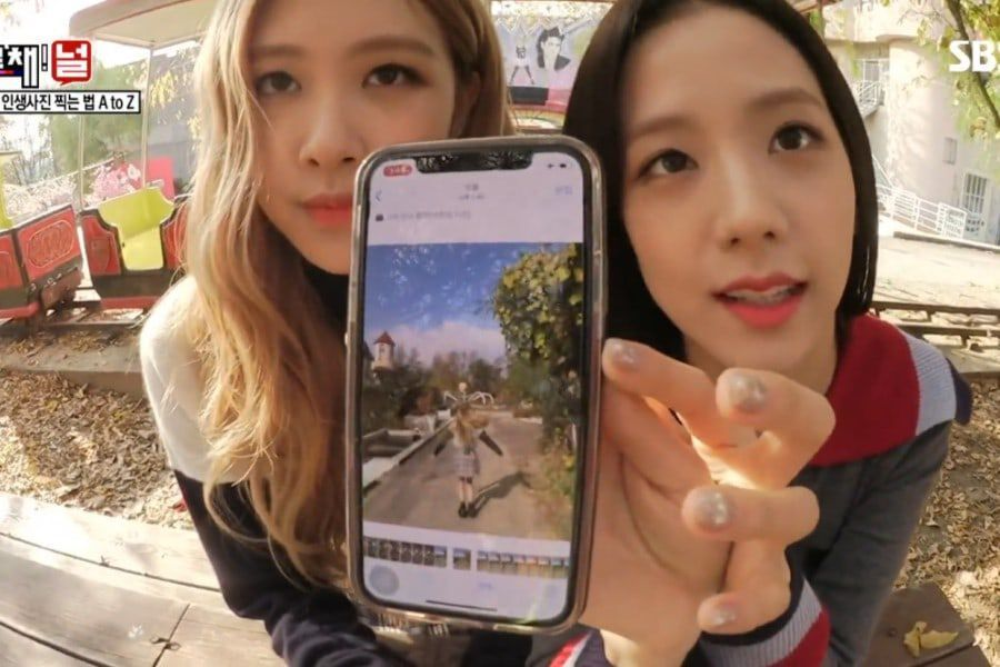 Blackpink S Rose And Jisoo Share Their Expert Knowledge On Taking Aesthetic Photos Soompi