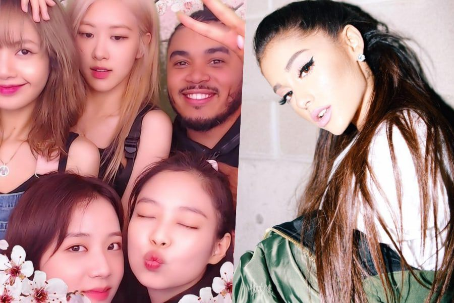 Ariana Grande Asks To Be Photoshopped Into BLACKPINK Photo; Producer Tommy Brown Grants Her Wish + BLACKPINK Responds