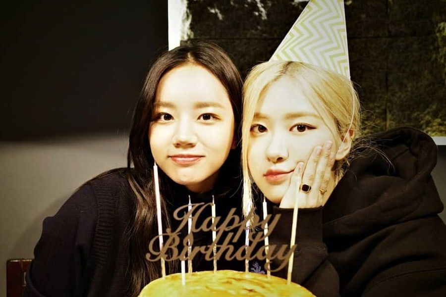Girl's Day's Hyeri Shares Lovely Photos From BLACKPINK's Rosé's Birthday Party