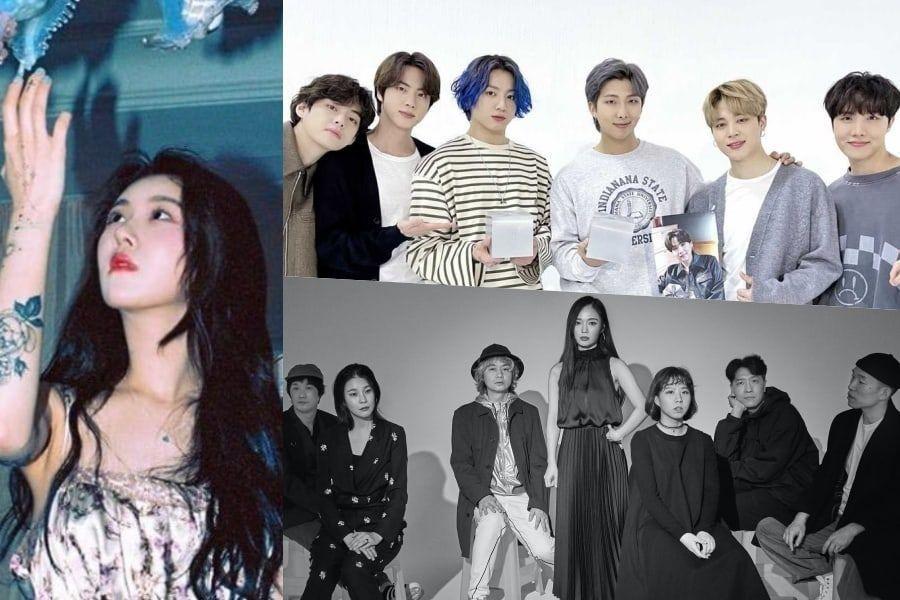 BTS, Baek Yerin, LEENALCHI, And More Win At The 18th Korean Music Awards